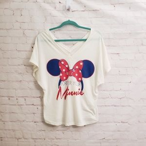 Disney Forever your Minnie top